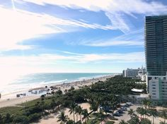 #ChiaraBiasi Chiara Biasi: i woke up like this  #miami #miamibeach #goodmorning #whotel #viewfrommyroom