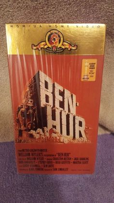 Ben-Hur VHS Two Tapes Sealed New in Package