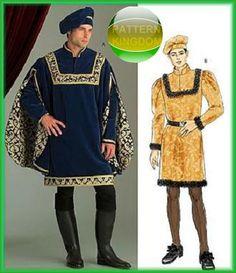 34d0911fe23 Butterick 5116 Renaissance Prince Costume Patterns