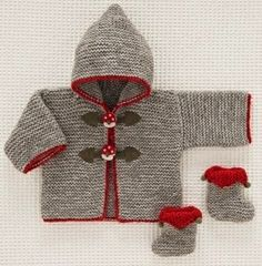 Letras e Artes da Lalá: casaquinho para bebê