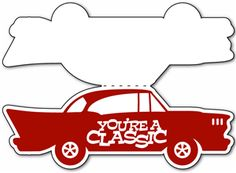 View Design: classic car card templates