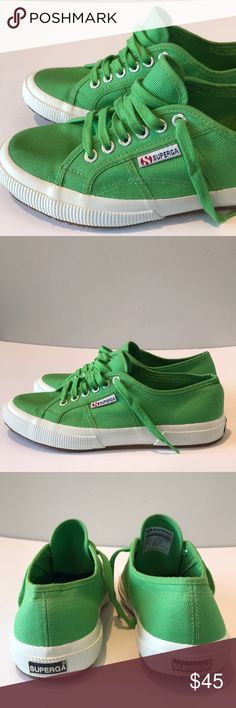brand new 19dbc 4b637 ✨ Superga  Cotu sneakers✨ Brand new Superga sneakers Color  green Size