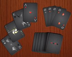 Fancy - Stealth Playing Cards by AK Graphx