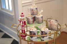 Hot Cocoa Mug Favors from a Nutcracker Ballet themed Birthday Holiday Party via Kara's Party Ideas | KarasPartyIdeas.com (12)