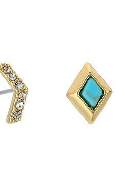 Vera Bradley Stylist Earring Set (Gold Tone) Earring - Vera Bradley, Stylist Earring Set, 22013-236082, Jewelry Earring General, Earring, Earring, Jewelry, Gift - Outfit Ideas And Street Style 2017