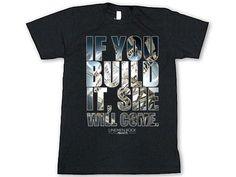 If you build it, she will come- lineman shirts Lineman Shirts, Gift Ideas, Mens Tops, T Shirt, Women, Fashion, Supreme T Shirt, Moda, Tee Shirt
