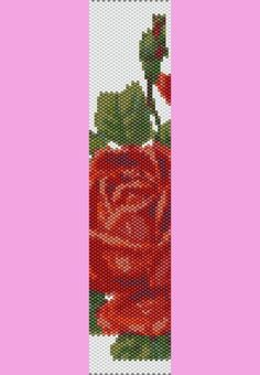 Rose Garden Bracelet Peyote Pattern