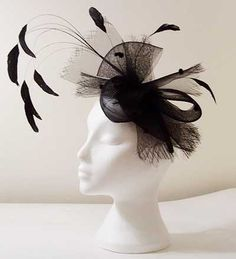 Bow fascinator Stephanie Fascinator