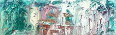 Matthew Izzo painting acrylic on panel