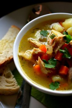 chicken & vegetable minestrone
