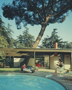 Saul Bass House 1958 by C.Buff, C. Straub & D. Hensman, via The Scout #photography #architecture