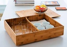 """bamboo """"Fat Tray"""" by Helsinki designer Harri Koskinen for Alessi Design Shop, House Design, Drinks Tray, Pantry Cupboard, Shops, Alessi, Covered Boxes, Office Interiors, Kitchen Utensils"""