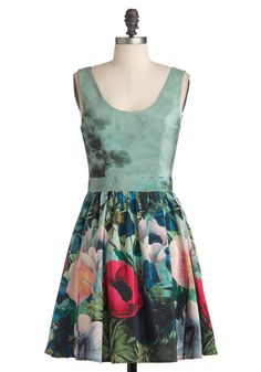 Keeping It Realism Dress, #ModCloth    gosh this dress just makes me want to cry its so pretty >.