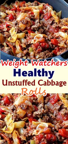 Healthy Unstuffed Cabbage Rolls – The Meal No-One Can Resist! – My Recipes recipes dinner recipes dinner easy recipes dinner healthy recipes dinner keto recipes dinner meat recipes dinner video Skinny Recipes, Ww Recipes, Healthy Dinner Recipes, Cooking Recipes, Easter Recipes, Healthy Cabbage Recipes, Cabbage Meals, Birthday Recipes, Casseroles Healthy
