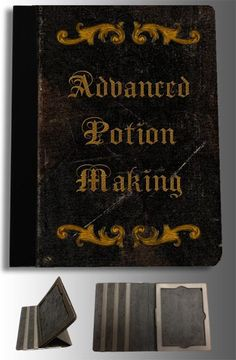 "/""Advanced Potion Making/"" Metal Wall Sign Plaque Art Potter Book Hogwarts Harry"