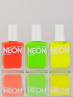 American Apparel Neon Polish