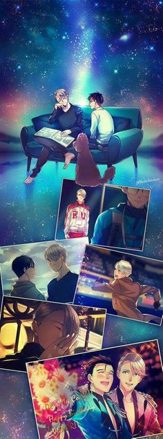 Most impactfully emotional animé to ever bless my screen  #Yurionice