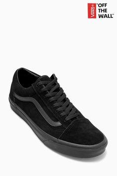 Buy Vans Triple Black Suede Old Skool from the Next UK online shop b32a63123