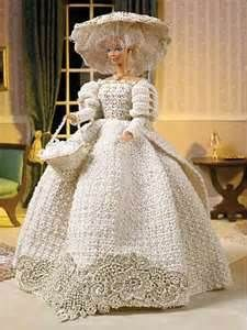 CROCHET BARBIE DOLL CLOTHES PATTERNS | Free Patterns