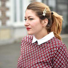 Je ne quitte plus ma petite barrette étoiles ✨✨ #ootd #top @grain_de_malice barrette @primark #rennes #tenuedujour #blogmode #blogueuse #blogger #instafashion #fashion #look #outfit