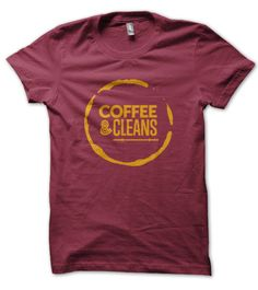Coffee & Cleans Tshirt - The perfect pairing - Coffee with a side of cleans. Just the way I like to start my mornings at the crossfit gym.
