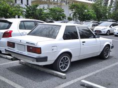 1982 Toyota Corolla 2-door sedan.