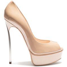 Casadei Platform found on Polyvore featuring shoes, pumps, heels, shoes heels, hazel, heels & pumps, black stiletto pumps, heels stilettos, black heel pumps and black pumps
