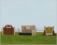 Chimerical_Traditional, Modern, and Mission signs converted from Sims 3