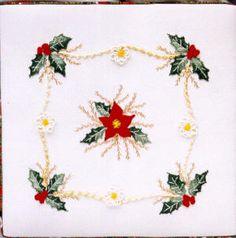 Christmas Brazilian Embroidery Design