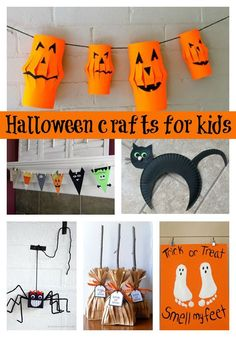 Do you love keeping your kids busy with fun activities? We love the idea of doing fun Halloween crafts with the kids. Check out this great list of DIY ideas your kids will go crazy over. They also make the perfect decor for that Halloween party you've been planning. See these creative crafts and more on prettymyparty.com.