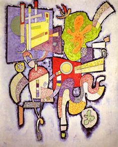 "Wassily Kandinsky - ""Complex-Simple"", 1939"