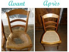 Cannage - Cane seat chair