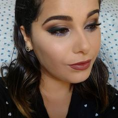 VÍDEO NOVO NO CANAL! 💙  Maquiagem inspiração, vai lá no canal ver, tá muito fácil >>> https://m.youtube.com/watch?v=GHfM4VJ5Tdg  Lista de produtos usados no blog:  http://meninasmodaeetc.blogspot.com.br  Link clicável no perfil do insta!  #VídeoNovo #SombraMarrom #Pocahontas #EsfumadoMarrom #MakeInspiracao #Make #Makeup #AmoMaquiar #MaquiagemIspiracao #BatomNude #AmoMaquiagem #Disney #Lipstick #Blogger #Maquiagem #BronwLips #ByMonik #AmoMeuTrabalho #BloggerAju #InstaBeauty  #Maquiagemx…