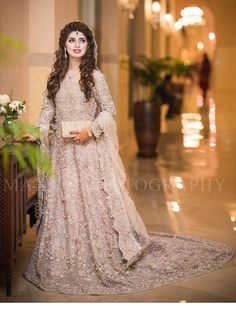 Pakistani Engagement Dresses For Brides In 2020 Pakistani Engagement Dresses, Engagement Dress For Bride, Pakistani Wedding Outfits, Pakistani Wedding Dresses, Bridal Outfits, Indian Dresses, Walima Dress, Asian Wedding Dress, My Hairstyle