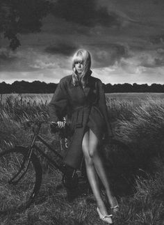 """""""Sweetness and Light"""": Julia Stegner by Mert & Marcus for W Magazine. 
