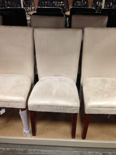Dining room chairs from Garden Ridge Dining room Pinterest