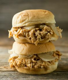 Slow Cooker Beer Chicken Sliders - Framed Cooks