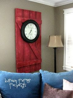 {barn door decor} - Simply Kierste