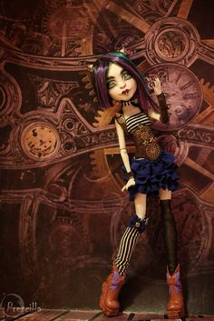 By Дарья Кавун / Rochelle Goyle OOAK. Prescilla25 on Flickr.