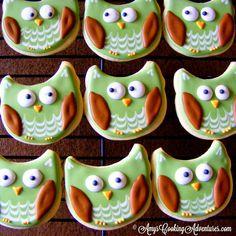 Amy's Cooking Adventures: Hoot Owl Cookies