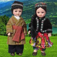Angel Heart teaching aids Chinese porcelain doll gift Uzbek souvenirs meeting(China (Mainland))