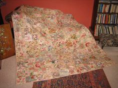 Photo of Floral Fantasy II Quilt by Julie Fraser-Easton. Click to purchase pattern or quilt