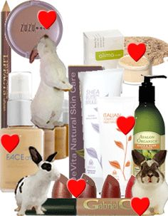#CrueltyFree shopping made easy!!!!  White Rabbit Beauty only sells brands that are #LeapingBunny certified!  And Jean ROCKS customer service!