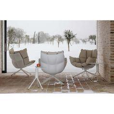 B&B Italia Husk Outdoor Loungesessel 80-82 cm