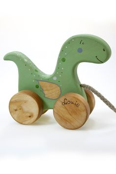 Personalized wooden toy