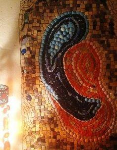 61/LOVE 76cx51cm (Inspired by unknown artist #لوحات_فنيه #فسيفساء#لوحة#فن#حجر  #mosaic #mosaique #mosaico #art #painting #marble #architecture #handcutmarble #sculpture #artist #beirut #beyrouth #baabda #lebanon #mosaicartpainting by #joumanawehbe #el_dahr #wehbi #loveart #coffee #ancienttechniques #marbleart #جمانةوهبه #بيروت #بعبدا