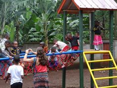 Not only do the Tuleeni kids have now access to electricity, computers and Internet, thanks to the generosity of Arrow North American Components, they also have a playground. #neemaintl #tuleeniorphans