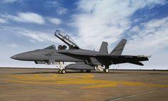 Advanced Super Hornet testbed aircraft.