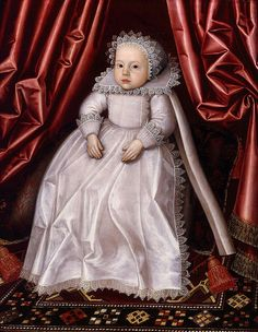 Larkin, William (1580c.-1619) - 1615c. A Baby, Said to be Lady Waugh (Private Collection)