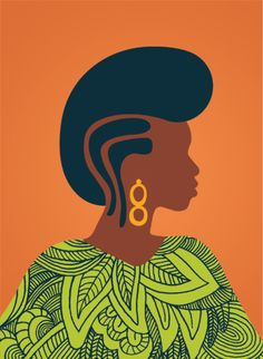 Print by @Andrea Pippins. Get. into. it. $25.00 More prints: http://ilovemyhair.bigcartel.com